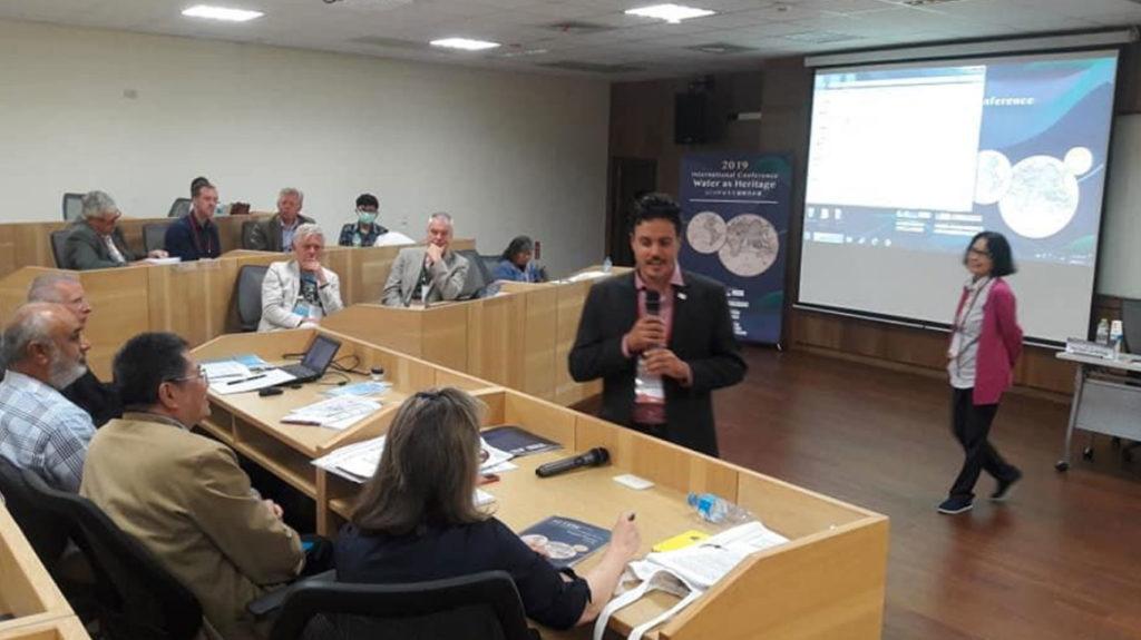 Palestra do diretor geral do CIRAT, Sergio Ribeiro, em Chiayi, Taiwan