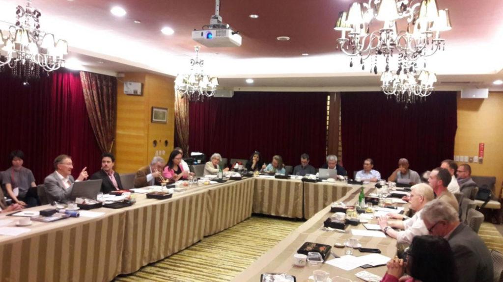 Reunião preparatória para criação do Comitê Científico Internacional de Água e Patrimônio